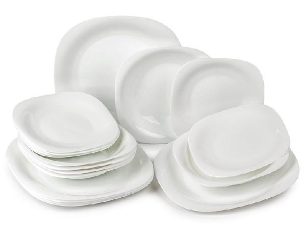 Luminarc 501240 Carine étkészlet 18 db-os fehér