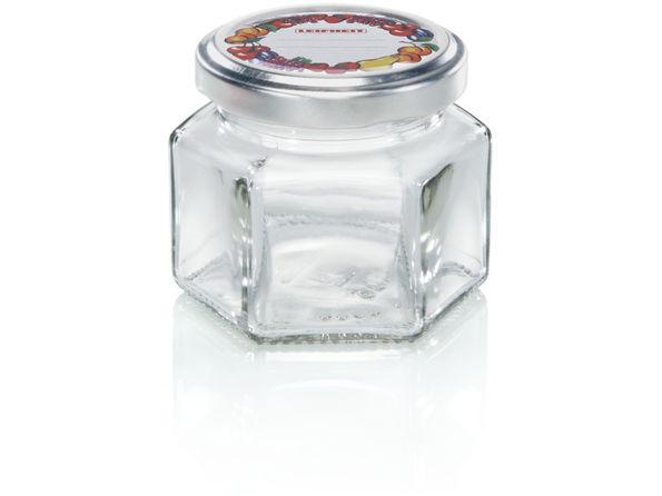 Leifheit 3209 Hatszögletű csavaros üveg 106 ml