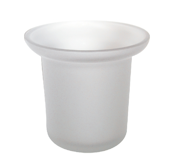 Bisk 23381 WC-kefe tartó, pót üveg