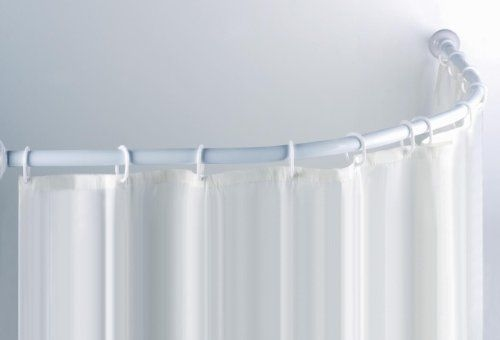 MSV 140589 Függönytartó 80x80, 90x90, íves, fehér