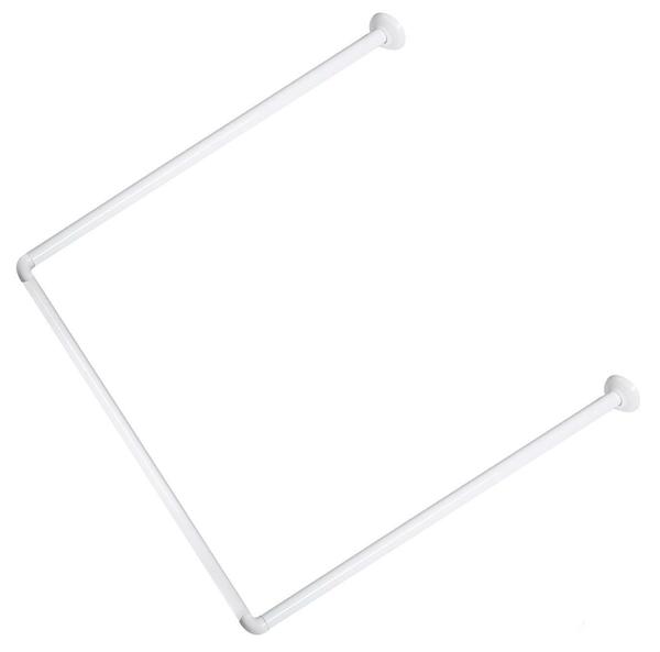 MSV 140392 Függönytartó 80x80x80, fehér