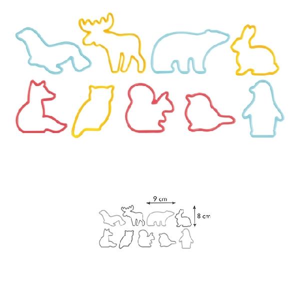 Tescoma 630929 Linzerkiszúró állatok 9 db/cs