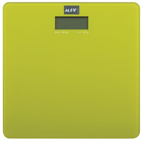 MSV 141399 Digitális személymérleg zöld
