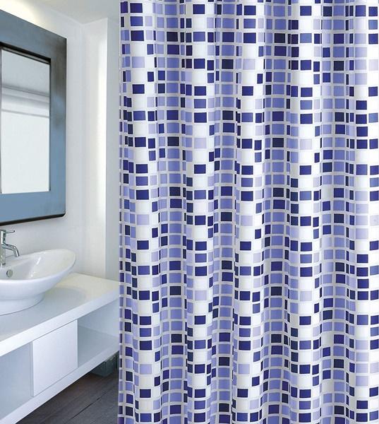 MSV 142103 Mosaiko zuhanyfüggöny 180x200 cm