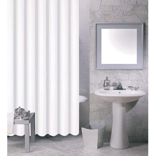 MSV 140030 Zuhanyfüggöny, fehér 180x200 cm