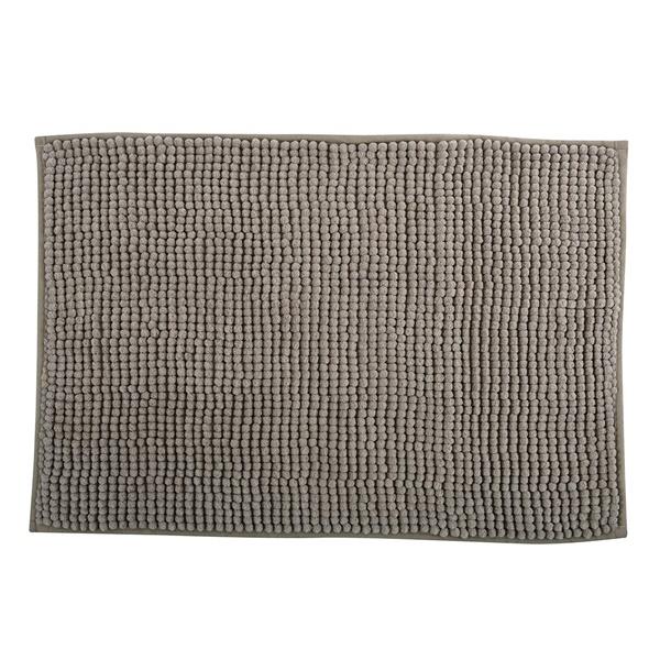 MSV 141623 Chenille Fürdőszobaszőnyeg 60x90 cm, taupe