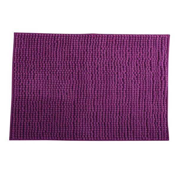 MSV 141628 Chenille Fürdőszobaszőnyeg 60x90 cm, lila