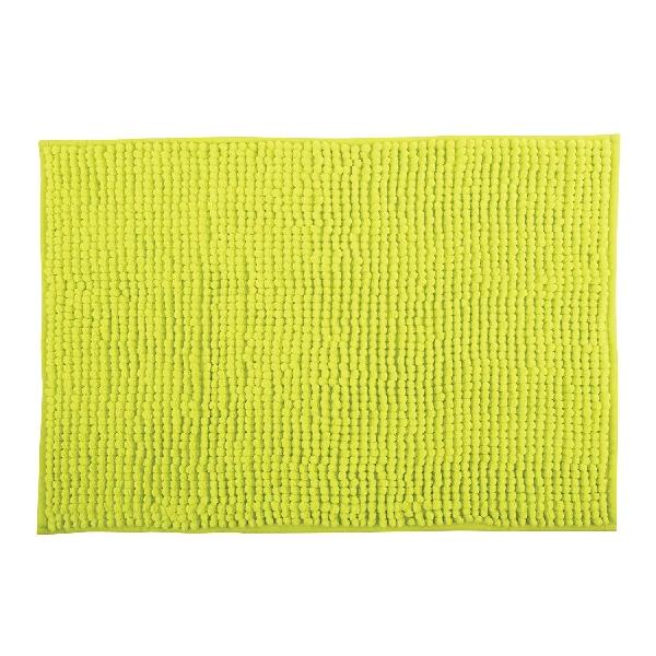 MSV 141629 Chenille Fürdőszobaszőnyeg 60x90 cm, ánizs zöld