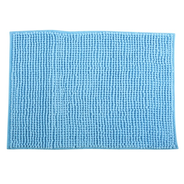 MSV 141631 Chenille Fürdőszobaszőnyeg 60x90 cm, azúr