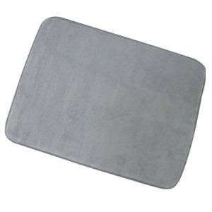 MSV 140856 Memoire de forme Fürdőszobaszőnyeg 50x70 cm, szürke