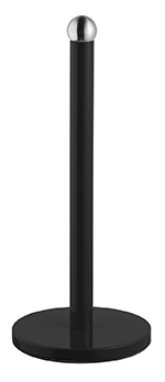 Bisk 06635 Grenada papírtörlő tartó fekete