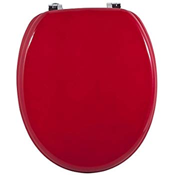 MSV 140341 WC ülőke MDF piros