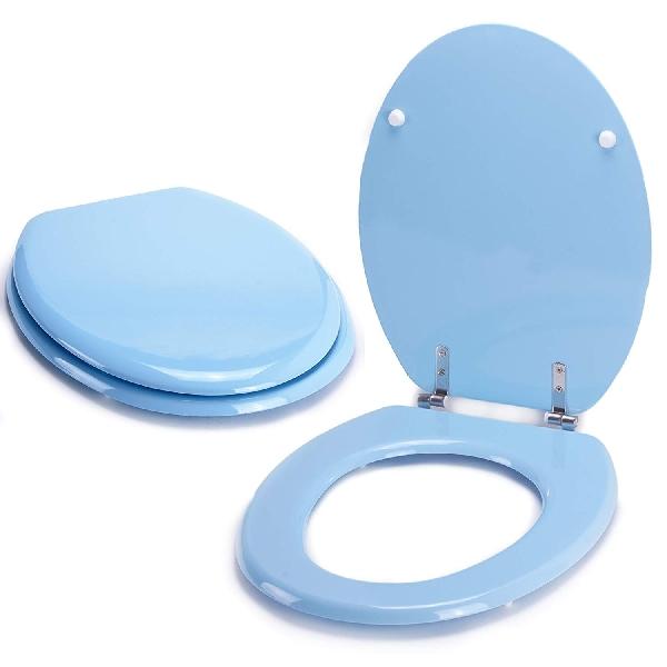 MSV 140014 WC ülőke MDF pasztel kék