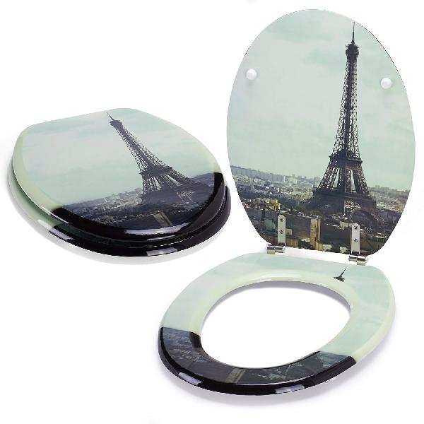 MSV 140570 Tour Eiffel WC ülőke MDF