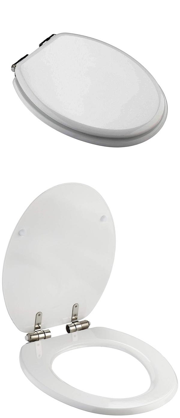 MSV 141479 WC ülőke MDF fehér lecsapódásgátlóval