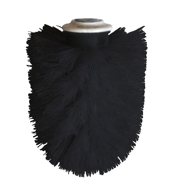 Bisk 04180 Pót WC kefe fekete