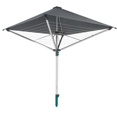 Leifheit 82100 LinoProtect 400 kerti ruhaszárító tetővel