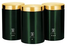 Berlinger Haus BH-6272 Emerald Collection 3 db-os tárolódoboz készlet