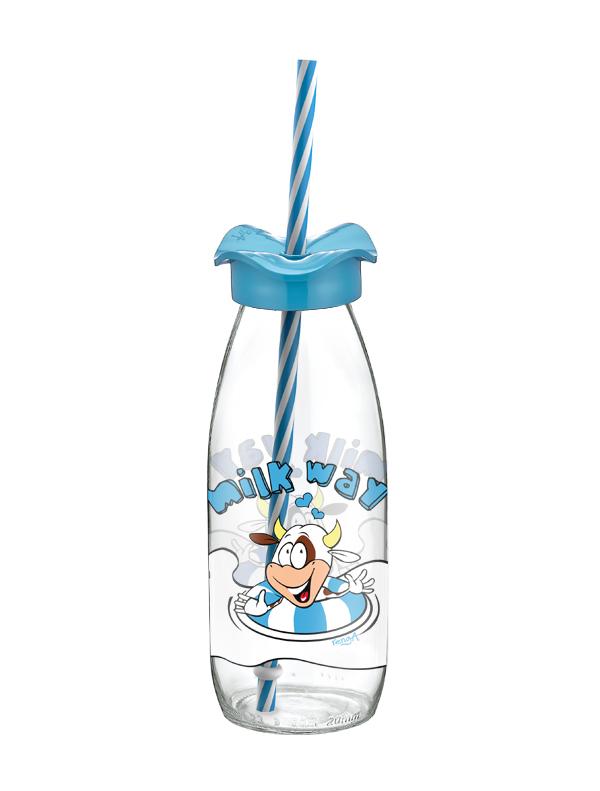 Renga 151966 R Szívószálas üveg 2,5 dl