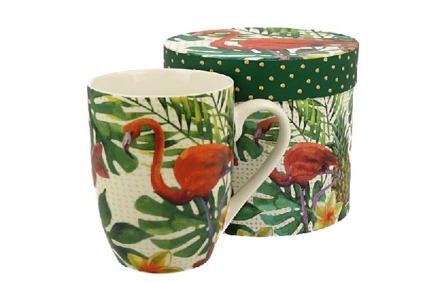Duo 915300 Bögre dobozban flamingó