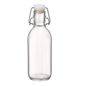 Bormioli Rocco 119927 Emilia csatos üveg 0,5 l