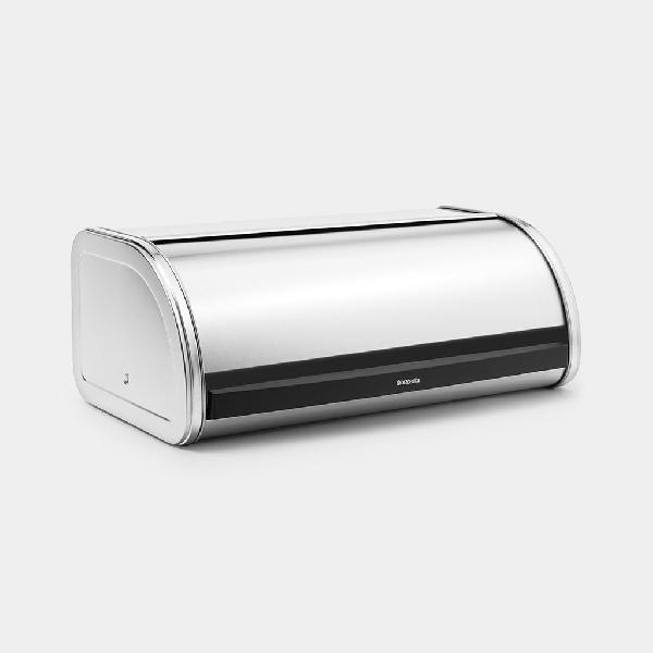 Brabantia 180015 Roll Top Matt Steel Kenyértartó 2 kg-os