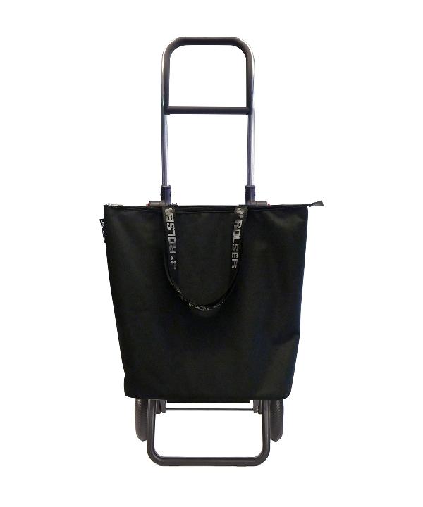 Rolser MNB009 Mini Bag Plus MF Logic RG összecsukható bevásárlókocsi levehető táskával